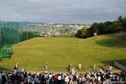 2012年 フンドーキンレディース 初日 練習場