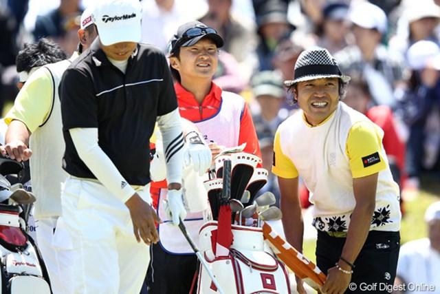 2012年 日本プロゴルフ選手権大会 日清カップヌードル杯 3日目 片山晋呉 今日2つスコアを落としイーブン9位タイ