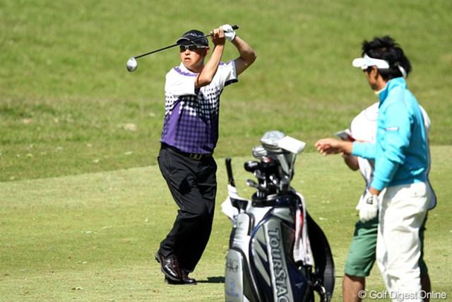 2012年 日本プロゴルフ選手権大会 日清カップヌードル杯 3日目 谷口徹 これは何なんでしょう?