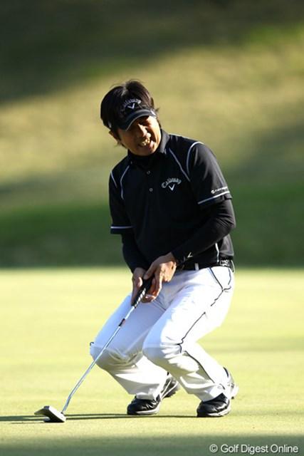 2012年 日本プロゴルフ選手権大会 日清カップヌードル杯 3日目 深堀圭一郎 これが今日のすべてかな?