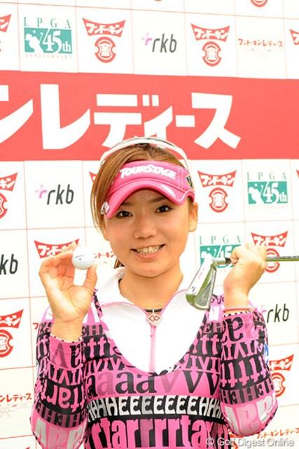 ツアーでは自身2度目のホールインワンを達成した有村智恵