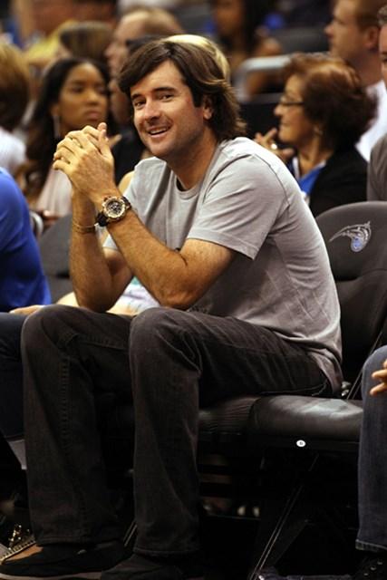 """2012年 WORLD バッバ・ワトソン マスターズ優勝後、コース外での振る舞いも""""よりいっそう""""注目を集めるようになった。(Marc Serota/Getty Images)"""