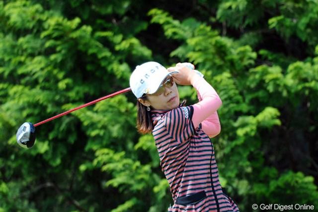 初日首位タイに立ち、今大会3勝目に向けて好スタートを切った李知姫