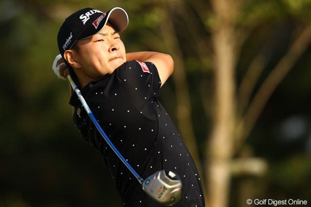 2012年 とおとうみ浜松オープン 2日目 藤本佳則 予選2日間首位をキープした藤本佳則、目指すは優勝ただ1つ