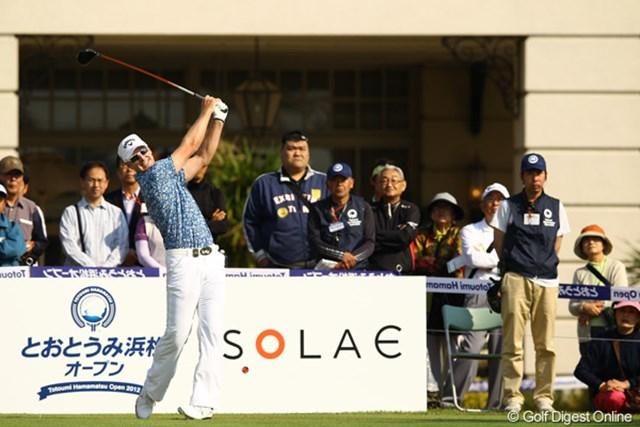 2012年 とおとうみ浜松オープン 2日目 ブレンダン・ジョーンズ 土日は穏やかな風になりそうな予報です。一人旅もありそうな予感。