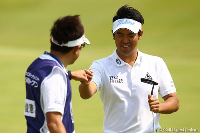 2012年 とおとうみ浜松オープン 2日目 武藤俊憲 44位タイから5位タイへ、一気に浮上です。