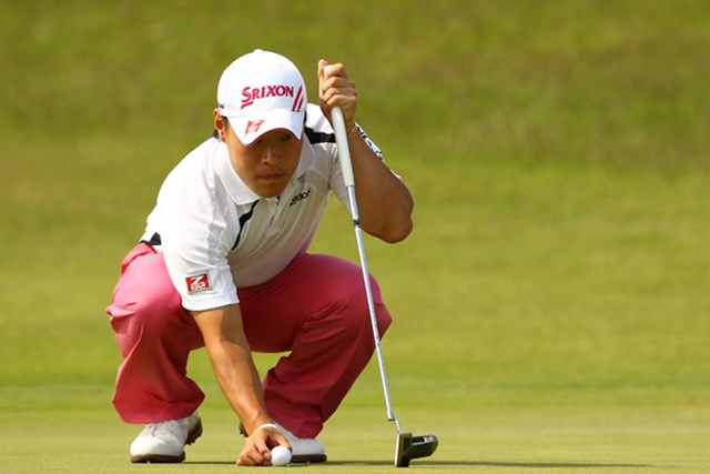2012年 とおとうみ浜松オープン 3日目 藤本佳則 通算14アンダー、2位に2打差でツアー初優勝に王手の藤本佳則