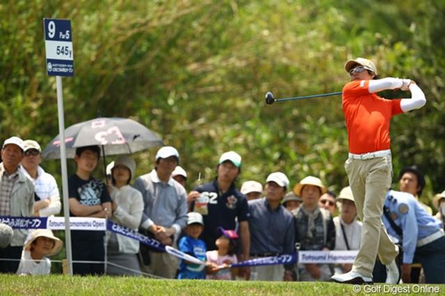 2012年 とおとうみ浜松オープン 3日目 石川遼 絶好のコンディションの中、5打伸ばし14位タイまで浮上した石川遼