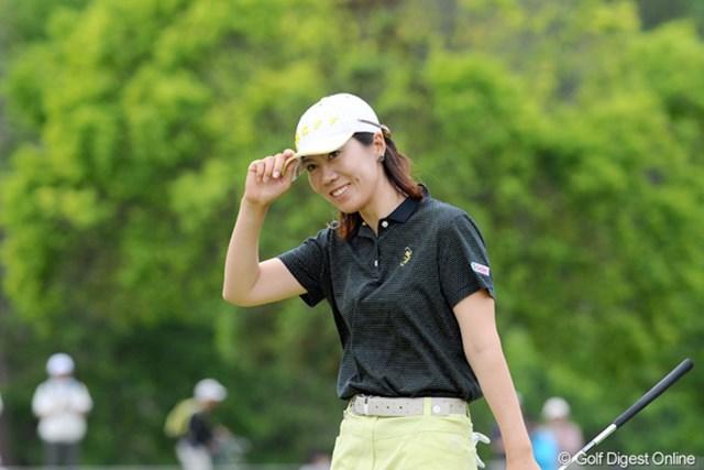 2012年 中京テレビ・ブリヂストンレディスオープン 最終日 李知姫 サンデーバックナインの4連続バーディで後続を突き放し、その強さを見せつけた李知姫