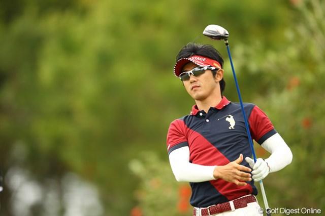 2012年 とおとうみ浜松オープン 最終日 近藤共弘 優勝争いに加わりかけたところで、後半に失速。