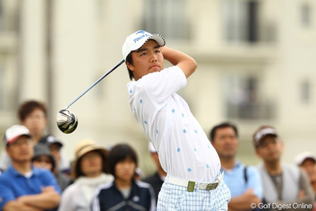 2012年 とおとうみ浜松オープン 最終日 小西健太 最終日68は立派です。ローアマゲット!