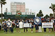 2012年 とおとうみ浜松オープン 最終日 表彰式