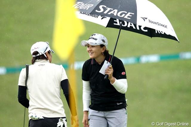 2012年 ヨネックスレディスゴルフトーナメント 初日 茂木宏美 ディフェンディングチャンピオン、トップと1打差で連覇を・・・
