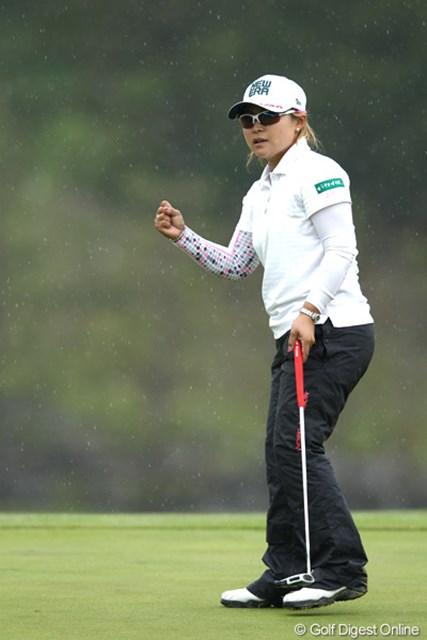 2012年 ヨネックスレディスゴルフトーナメント 初日 馬場ゆかり 3アンダートップタイスタートと好調の出だし!