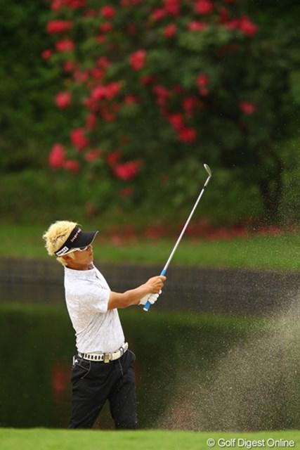 2012年 ダイヤモンドカップゴルフ 2日目 ジェイ・チョイ 今日は2つしかスコアを伸ばせませんでしたが、明日は最終組で藤田さんと気持ち良くラウンドしそうですね。