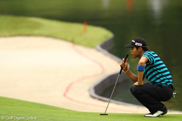 2012年 ダイヤモンドカップゴルフ 2日目 キム・ドフン 全米オープン予選の疲れがあるとの事ですが、この2日間ナイスラウンドです。