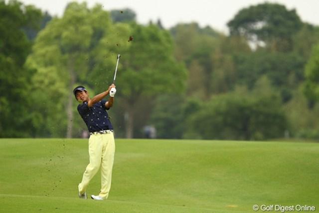 2012年 ダイヤモンドカップゴルフ 2日目 池田勇太 イーグルを奪うなど、4つスコアを伸ばしました。噛み合えばまだまだ伸ばせそうな雰囲気もありますよ。