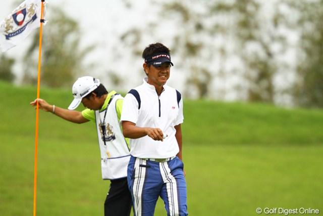 2012年 ダイヤモンドカップゴルフ 2日目 藤田寛之 まだ2日目ですが、既にゾーンに入った感じのゴルフでしたね。一気にかわして、独走で単独首位です