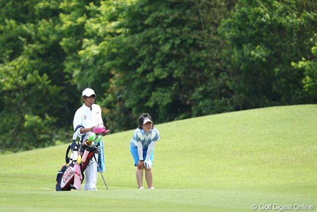 2012年 ヨネックスレディスゴルフトーナメント 2日目 西村美希 疲れちゃったのかな?残念ながら予選通過ならず