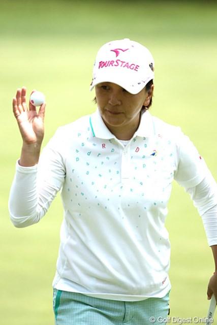 2012年 ヨネックスレディスゴルフトーナメント 2日目 茂木宏美 連覇の期待もかかるが・・・1アンダー16位タイ