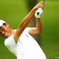 ダイナミックなゴルフが最大の魅力の兼本貴司。3打差首位の藤田寛之をとらえるか? 2012年 ダイヤモンドカップゴルフ 3日目 兼本貴司