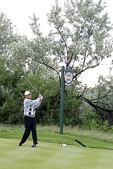 2012年 全米シニアプロ選手権 3日目 室田淳 日本勢でただ1人決勝ラウンドを戦う室田淳は3日目、42位タイに後退した ※画像提供:日本プロゴルフ協会