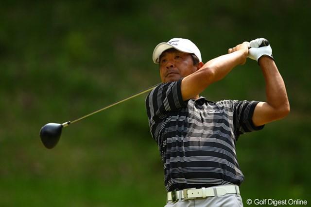 2012年 ダイヤモンドカップゴルフ 最終日 白潟英純 今年はベテランががんばってますね。