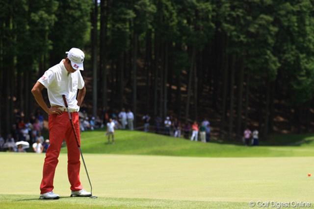 2012年 ダイヤモンドカップゴルフ 最終日 兼本貴司 最終日にノーバーディ。今日はこんなシーンばかりでした。