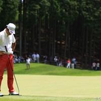 最終日にノーバーディ。今日はこんなシーンばかりでした。 2012年 ダイヤモンドカップゴルフ 最終日 兼本貴司