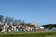 2012年 ヨネックスレディスゴルフトーナメント 最終日 練習場