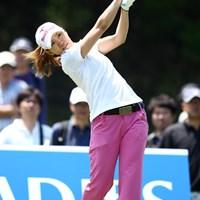 最終日スコアを伸ばし4アンダー8位タイ 2012年 ヨネックスレディスゴルフトーナメント 最終日 井上希