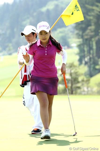 2012年 ヨネックスレディスゴルフトーナメント 最終日 青木瀬令奈