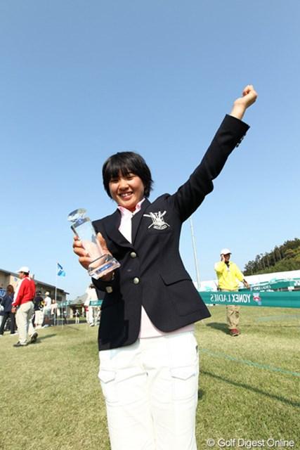 2012年 ヨネックスレディスゴルフトーナメント 最終日 永井花奈 今年最大の目標は日本女子アマベスト32!爽やかなラーメン娘・永井花奈