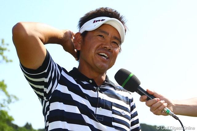 2012年 ダイヤモンドカップゴルフ 最終日 藤田寛之 開幕から6戦ですでに2勝を挙げた藤田寛之が世界ランクで急浮上。