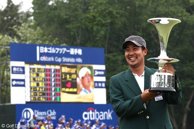 2011年 日本ゴルフツアー選手権 Citibank Cup Shishido Hills 事前情報 J.B.パク ディフェンディングチャンピオンのJ.B.パク。メジャーでの1勝が自身のツアー初優勝だった。