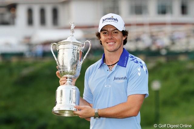 昨年の全米オープンで初のメジャータイトルを獲得したR.マキロイ。世界中のゴルファーが覇権を狙っている。