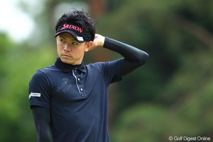 あたし、パーマあててみたの。どう? 2012年 日本ゴルフツアー選手権 Citibank Cup Shishido Hills 初日 諸藤将次