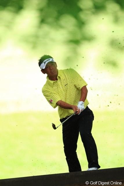 2012年 日本ゴルフツアー選手権 Citibank Cup Shishido Hills 初日 宮瀬博文 このホール痛恨の9と大叩き。