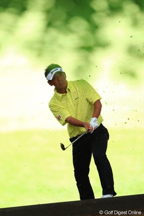 このホール痛恨の9と大叩き。 2012年 日本ゴルフツアー選手権 Citibank Cup Shishido Hills 初日 宮瀬博文