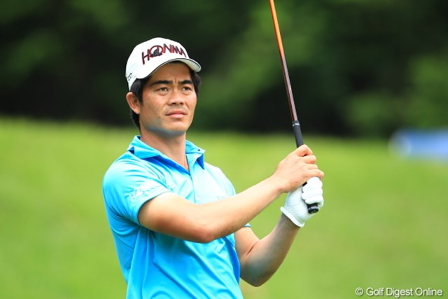 2012年 日本ゴルフツアー選手権 Citibank Cup Shishido Hills 初日 ウェン・チョン・リャン ブルースリーのモノマネをする人の表情に出てきそう。