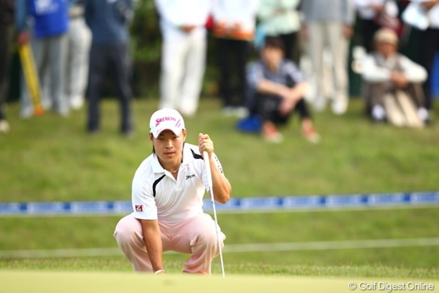 2012年 日本ゴルフツアー選手権 Citibank Cup Shishido Hills 初日 藤本佳則 明日以降、難易度が高くなると予想するも「目標はイーブンパー」と気負わず勝負に出る