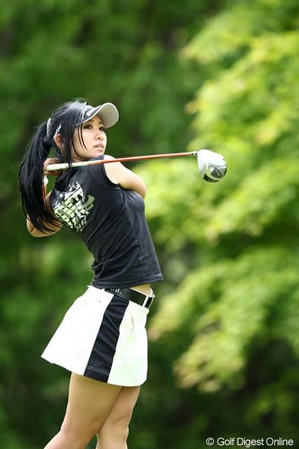 美人アマチュアゴルファーです、本当に美人だよね・・・