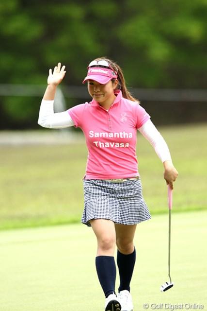 2012年 リゾートトラストレディス 2日目 堀奈津佳 かわいい子がどんどん出てくる女子ゴルフ