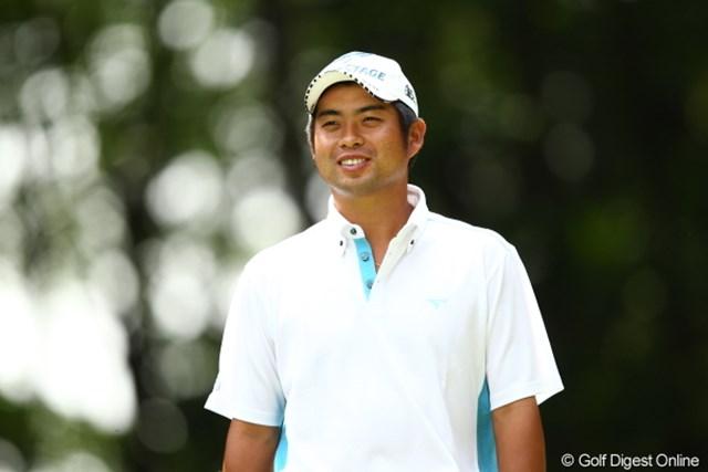 2012年 日本ゴルフツアー選手権 Citibank Cup Shishido Hills 3日目 池田勇太 最終日最終組の3人はいずれも初勝利を狙う選手たち。そのひとつ前の組から、池田勇太は逆転を狙う