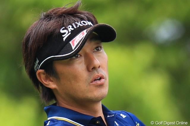 2012年 日本ゴルフツアー選手権 Citibank Cup Shishido Hills 3日目 山下和宏 「このコースは何が起こるか分からない」ツアー初優勝を狙う山下和宏が7位タイに浮上。※画像は初日から