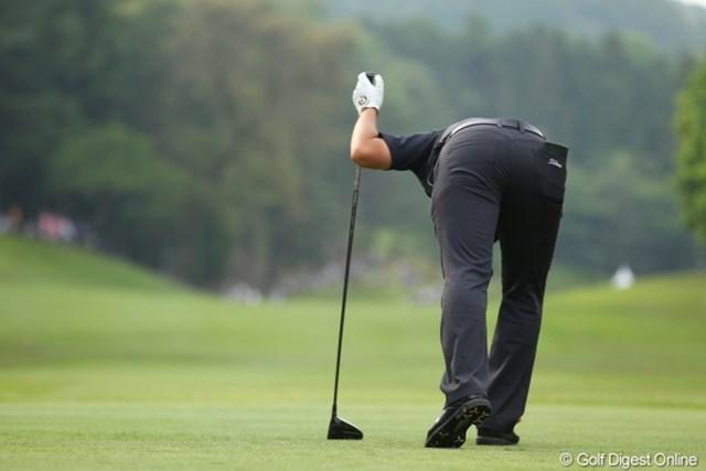 2012年 日本ゴルフツアー選手権 Citibank Cup Shishido Hills 3日目 川村昌弘 以前、ポーラクリーマーを同じアングルで撮った事があるけど結果は全然ちがうなぁ。