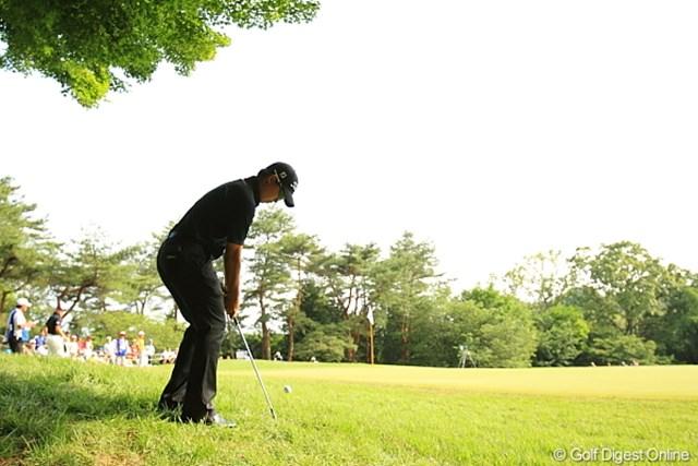 2012年 日本ゴルフツアー選手権 Citibank Cup Shishido Hills 3日目 川村昌弘 小技も上手いからスコアがまとまるのかなぁ。