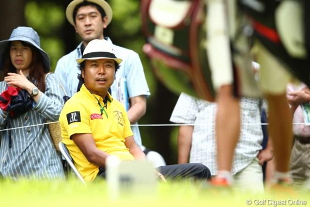 2012年 日本ゴルフツアー選手権 Citibank Cup Shishido Hills 3日目 片山晋呉 へーお兄さんたちゴルフうまいねー。