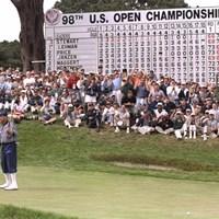 98年、オリンピッククラブでの全米オープンで悲劇を見たペイン・スチュワート ※画像は最終日から(Vincent Laforet/Getty Images) 2012年 WORLD 全米オープン特集 1998年大会 ペイン・スチュワート