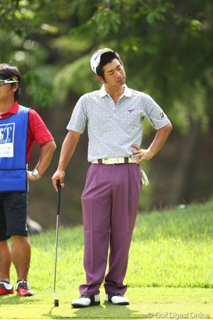 2012年 日本ゴルフツアー選手権 Citibank Cup Shishido Hills 最終日  池田勇太 池田勇太は今季初勝利、そして通算10勝目に、あと一歩が届かなかった